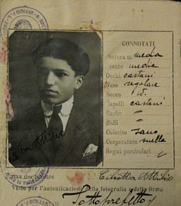 My grandfather's passport