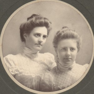 Bess Keller Shervin and Helen Eleanor Keller
