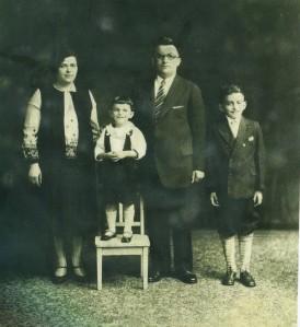 Lena, Ben, Abraham, and Jack Gorelick, circa 1929