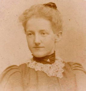 Mary in 1896,  at the age of 24